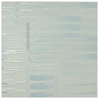 SomerTile 7.875x7.875-inch Antilles Blanco Ceramic Wall Tile (25 tiles/11.46 sqft.)