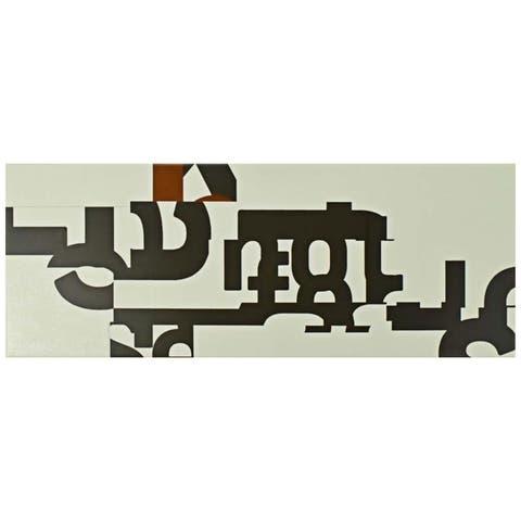 SomerTile 6x15.75-inch Grafico New York Ceramic Wall Tile (16 tiles/11.11 sqft.)