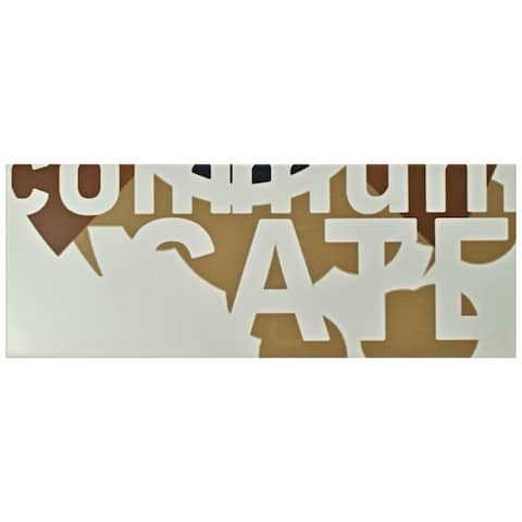SomerTile 6x15.75-inch Grafico Cali Ceramic Wall Tile (16 tiles/11.11 sqft.)