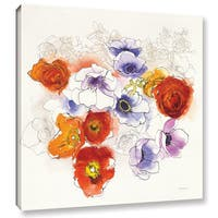Shirly Novak's Spring Fleurs, Gallery Wrapped Canvas