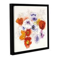 Shirly Novak's Spring Fleurs, Gallery Wrapped Floater-framed Canvas