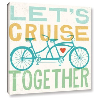 Michael Mullan's Lets Cruise Together I, Gallery Wrapped Canvas