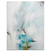 Modern Abstract Oil-on-canvas 36-inch x 48-inch Wall Art