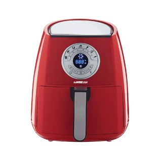 GoWISE USA 3.7-Quart Programmable Air Fryer Red