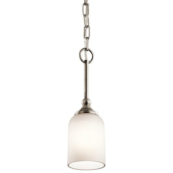 Kichler Lighting Lilah Collection 1-light Antique Pewter Mini Pendant