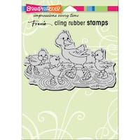 """Stampendous Cling Stamp 6.5""""X4.5"""""""