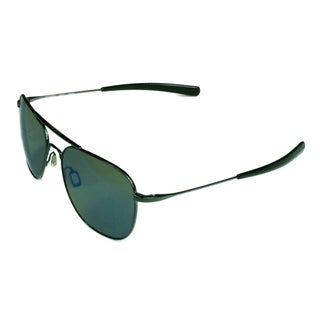 Serengeti Fashion Unisex Aerial 8205 Dark Gunmetal w/ Polarized 555NM Blue Lens Sunglasses