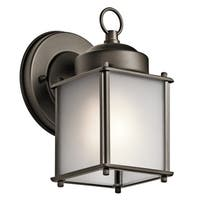 Kichler Lighting Traditional 1-light Olde Bronze Outdoor Wall Sconce