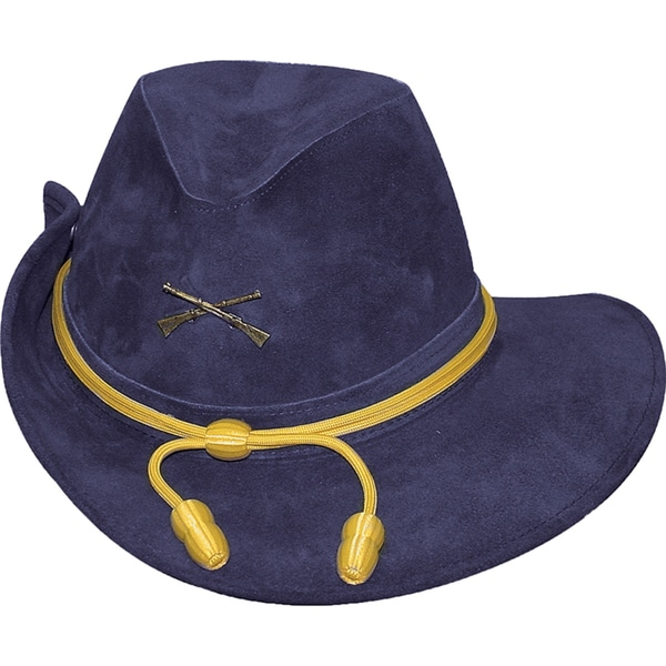 Shop Henschel Wide Brim Suede Officer Hat - Free Shipping Today ... cc62ed986a8