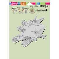 """Stampendous House Mouse Cling Stamp 6.5""""X4.5"""""""