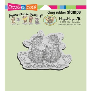 """Stampendous House Mouse Cling Stamp 4.75""""X4.5"""""""