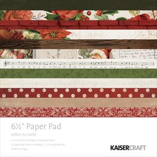 "Kaisercraft Paper Pad 6.5""X6.5"" 40/Pkg"