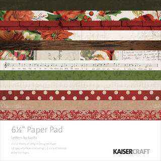 "Kaisercraft Paper Pad 6.5""X6.5"" 40/Pkg