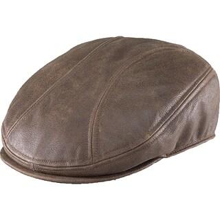 Henschel Leather Driving Cap