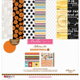Bella Blvd Basketball Collection Kit 12x12