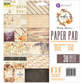 """Prima Marketing Double-Sided Paper Pad 8""""X8"""" 30/Pkg"""