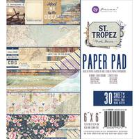 "Prima Marketing Double-Sided Paper Pad 6""X6"" 30/Pkg"