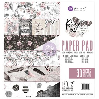 """Prima Marketing Double-Sided Paper Pad 12""""X12"""" 30/Pkg"""