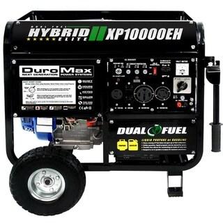 DuroMax 10000W Dual Fuel hybrid Propane/Gasoline Powered Generator