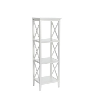 4-Shelf Etagere Open Bookcase (2 options available)