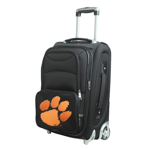 187b73f03001 Shop NCAA Clemson Luggage Carry-On 21in Rolling Softside Nylon in Black - On  Sale - Free Shipping Today - Overstock.com - 18183428