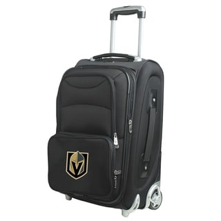 NHL D Luggage Carry-On 21in Rolling Softside Nylon