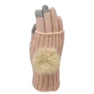 Le Nom Pom Pom Convertible Texting Gloves (3 options available)