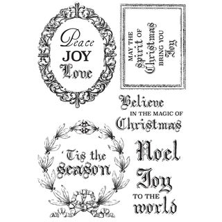"Letters To Santa Clear Stamps 6""X4"""
