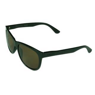 b63bb54836d2 Serengeti Fashion Unisex Ostuni 8359 Shiny Black w  Polarized Drivers Lens  Sunglasses