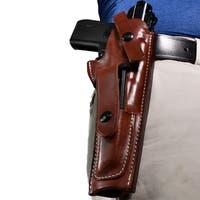 Bluestone Safety Leather MK I II III IV Holster with Magazine Pouch/ OWB Belt Slide Holster