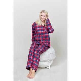 Le Nom Red Plaid Pajama