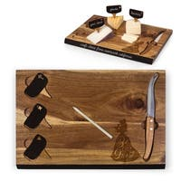 Beauty & the Beast - Delio Acacia Cheese Board & Tools Set