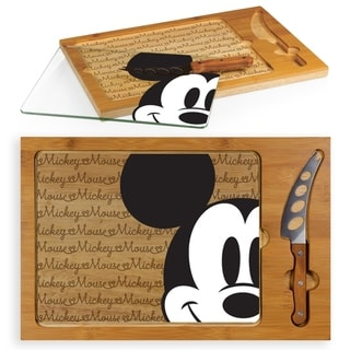 Mickey Mouse - Icon Glass Top Serving Tray & Knife Set