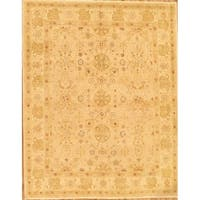 """Pasargad Sultanabad Collection Hand-Knotted Beige Wool Rug ( 9' 3"""" X 11' 7"""")"""