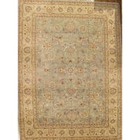 "Pasargad Ferehan L. Blue/Ivory Lamb's Wool Area Rug (13' 1"" X 17'10"")"