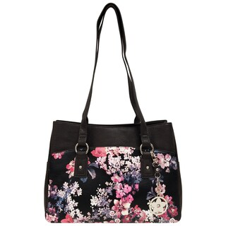Bueno of California Floral Tote Bag