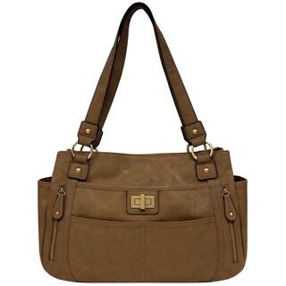 Bueno of California Vegan Leather Tote Bag