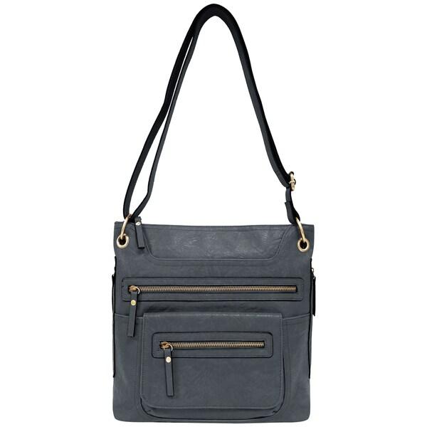 0b5e57a0f65 Shop Bueno of California Vegan Leather Crossbody Handbag - Free ...