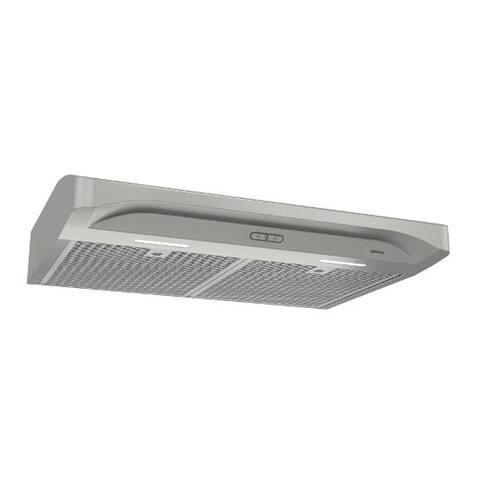 Alta 30 Inch 300 CFM Stainless Steel Range Hood - Silver