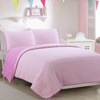 AHF Kids Lizzie Twin Quilt Set (4 options available)