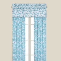 Cora Blue Window Drapery Panel