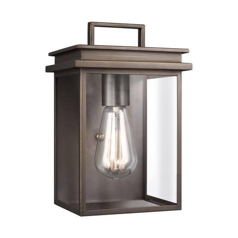 Feiss 1 - Light Outdoor Wall Lantern, Antique Bronze