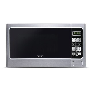 Bella Microwave Oven 1000 Watt Family-Sized Digital 1.1 Cubic Foot