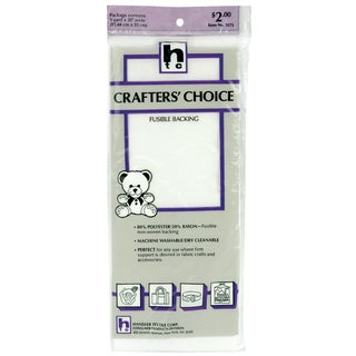 Crafter's Choice Fusible Backing