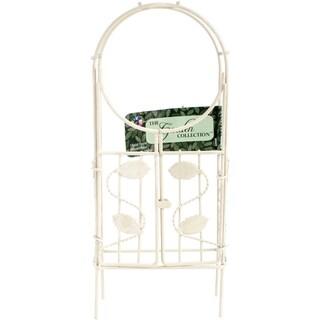 """Mini Iron Garden Arch W/Gate 3"""""""