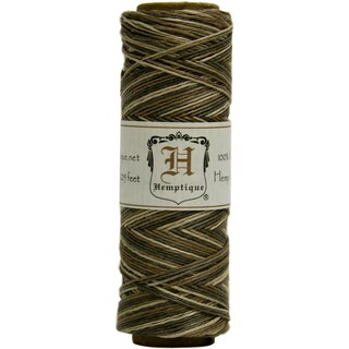 Hemp Variegated Cord Spool 10lb 205'