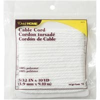 """Dritz Home Cable Cord 5/32""""X10yd"""