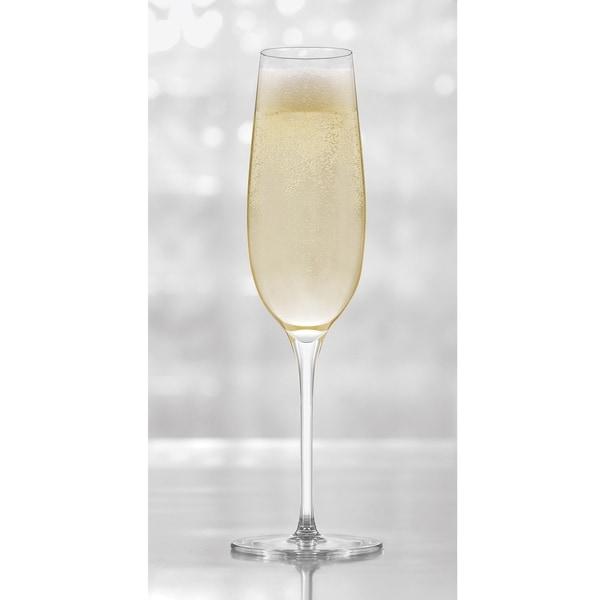 Libbey Signature Kentfield 4-piece Champagne Flute Glass Set