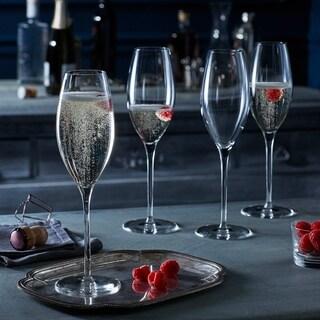 Libbey Signature Westbury 4-piece Champagne Flute Glass Set
