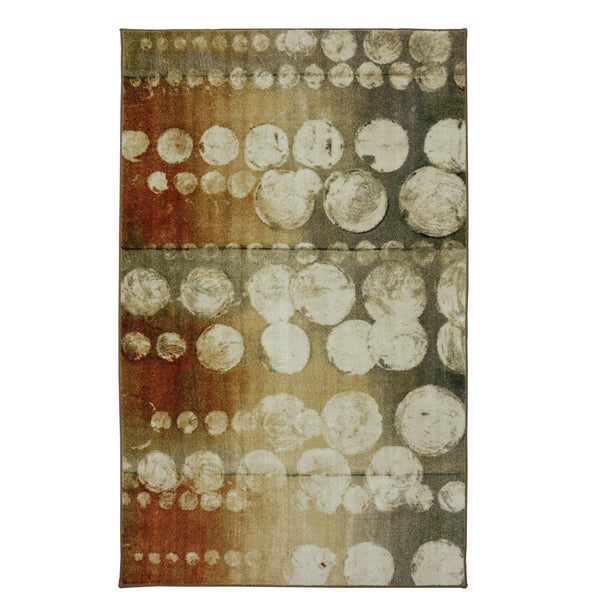 "Mohawk New Wave Rain Rust Nylon Area Rug (7' 6 x 10') - 7'6"" x 10'"